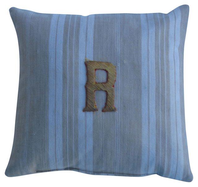 Linen Lavender Sachet w/ Metallic R