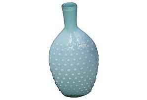 Hobnail Opalescent Glass Vase