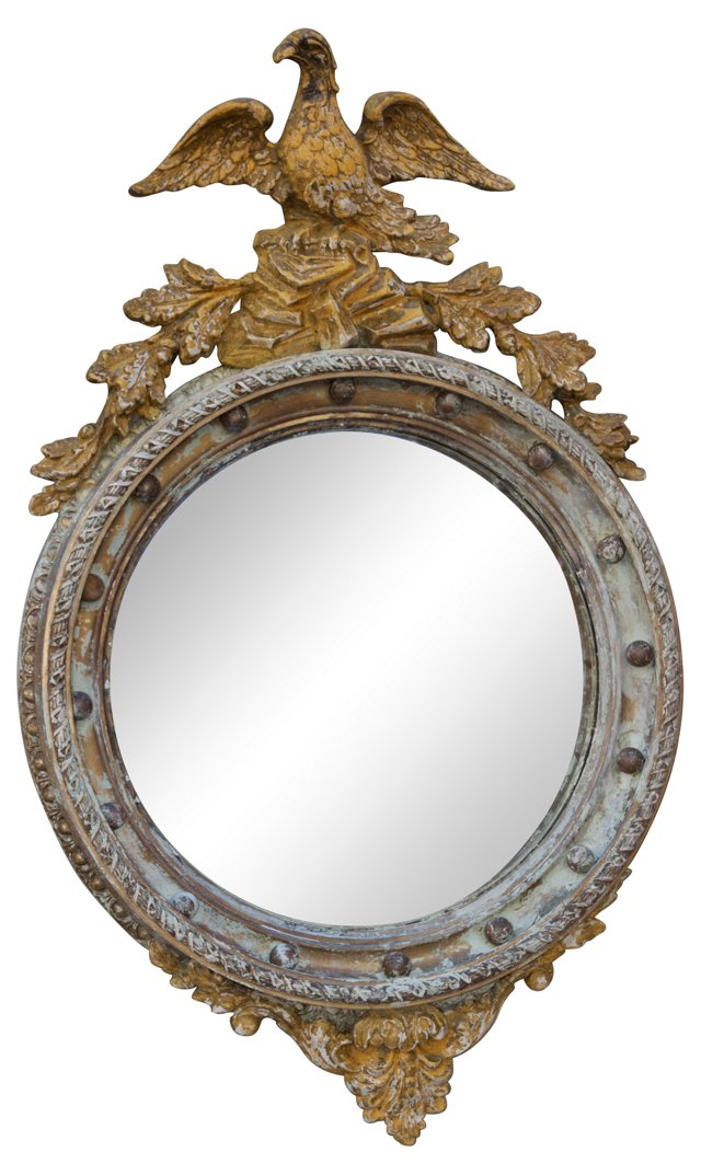 Carved Federal-Style Mirror