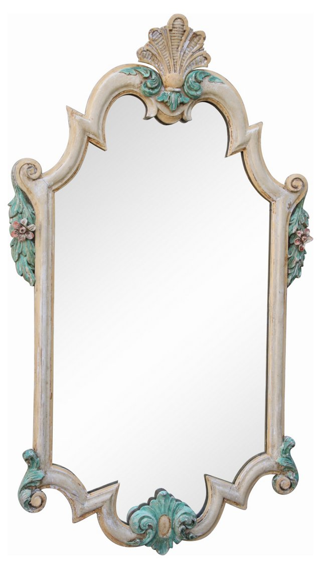 Painted Italian Mirror