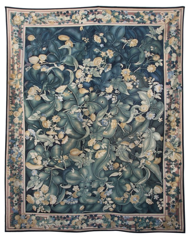 Handmade Flemish-Style Tapestry