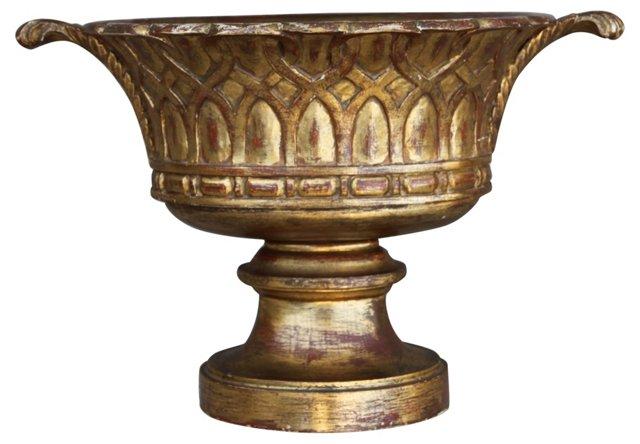 Italian Giltwood Urn