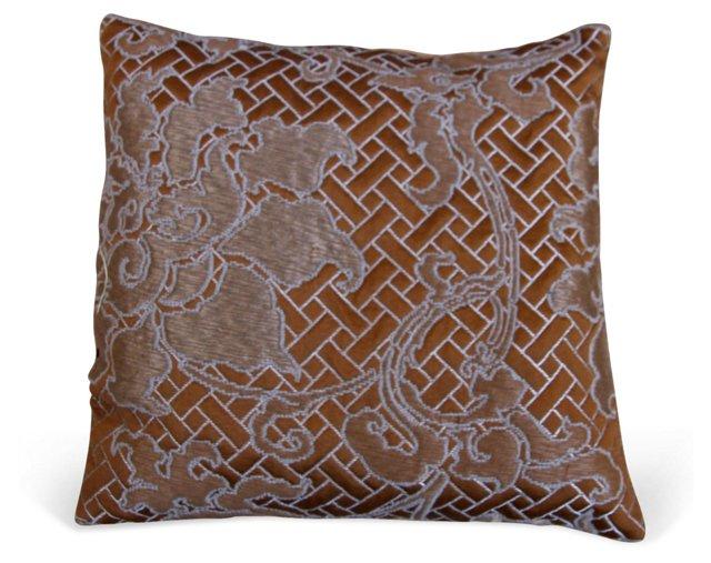 Brocade Bronze Lavender Sachet