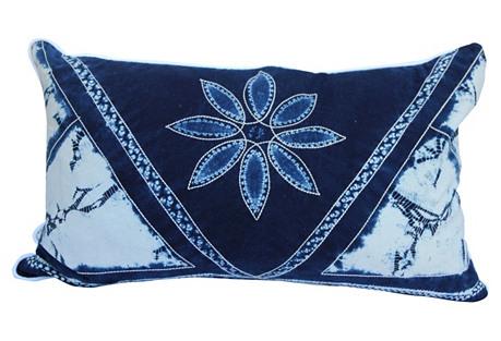 Envelope-Style Batik Pillow