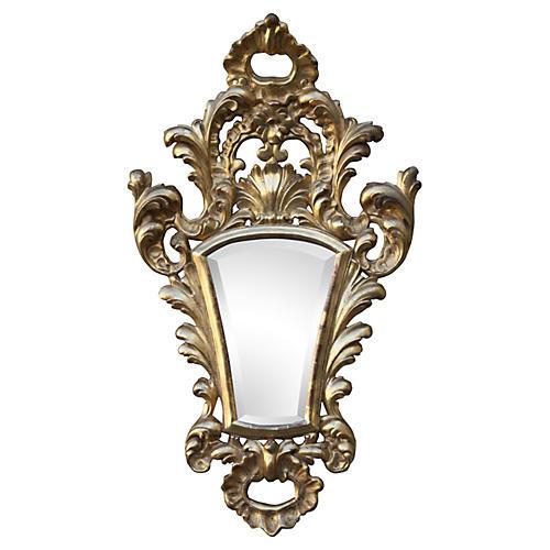 Giltwood Italian Mirror w/ Bevel
