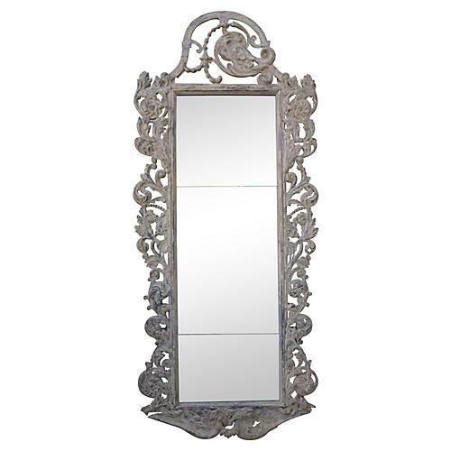 Monumental Italian Painted Mirror