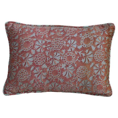Custom Terracotta Fortuny Pillow