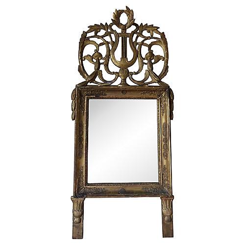 19th C. Italian Gilt Wood Mirror