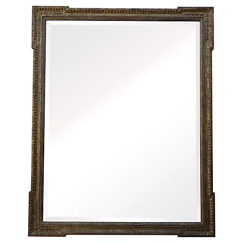 Italian Gilt Wood Mirror w/ Bevel
