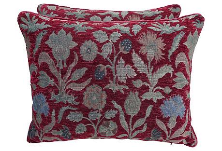 Gisbert Rentmeister Pillows, Pair