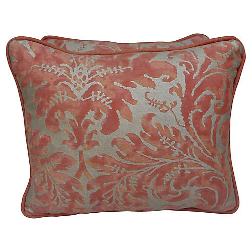 Lucrezia Patterned Fortuny Pillows, Pair