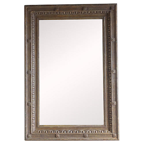 Italian Classical Style Painted Mirror