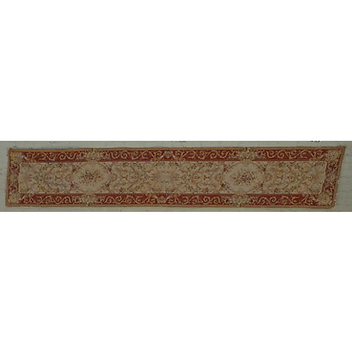 Vintage Needlepoint Carpet Runner