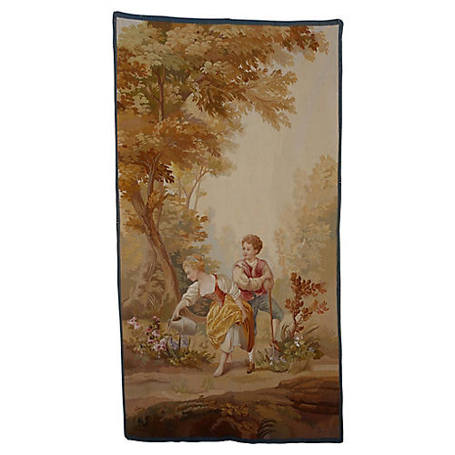 19th Century Tapestry Wall hanging