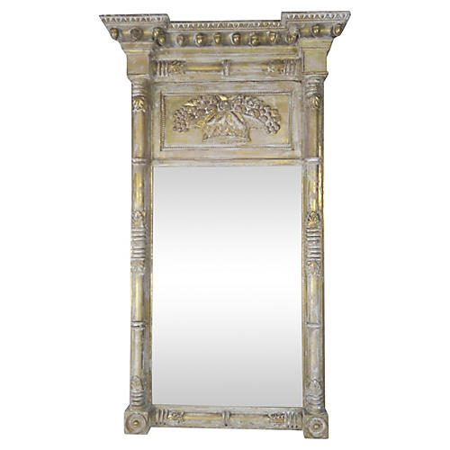 American Gold Leaf Federal Mirror