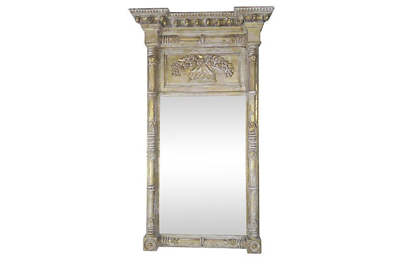 American Gold Leaf Federal Mirror