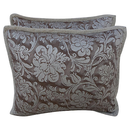 Cimarosa Fortuny Textile Pillows, Pair
