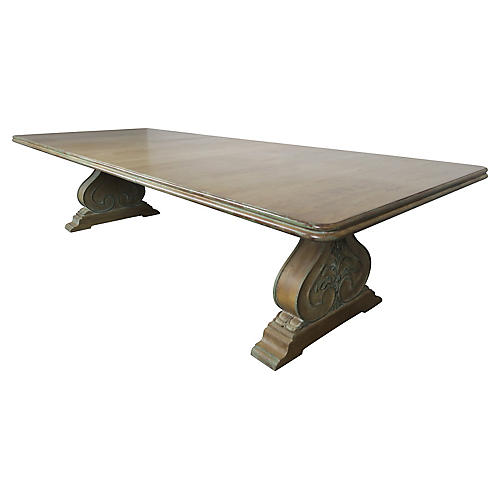 Italian Neoclassical Style Dining Table