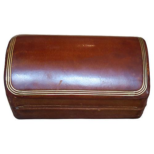 Italian Gold Embossed Leather Box