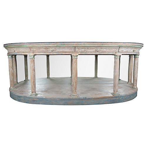 Neoclassical Style Painted Sideboard