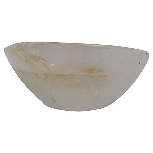 Organic Rock Crystal Bowl
