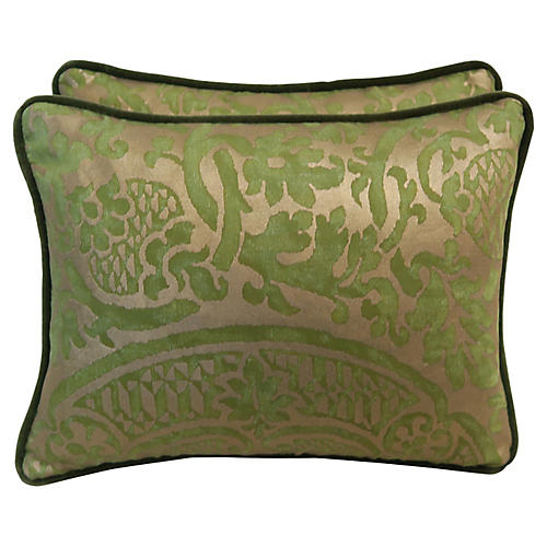 Orsini Fortuny Pillows, Pair