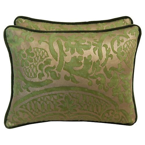 Orsini Fortuny Pillows, Pair