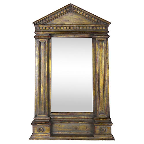 19th-C Italian Neoclassical Style Mirror