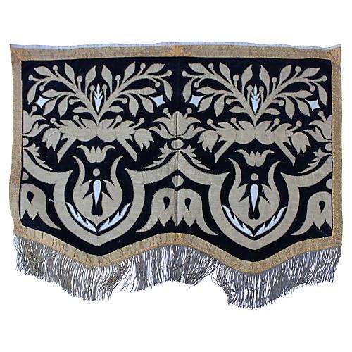 19th-C. Italian Appliqué Textile