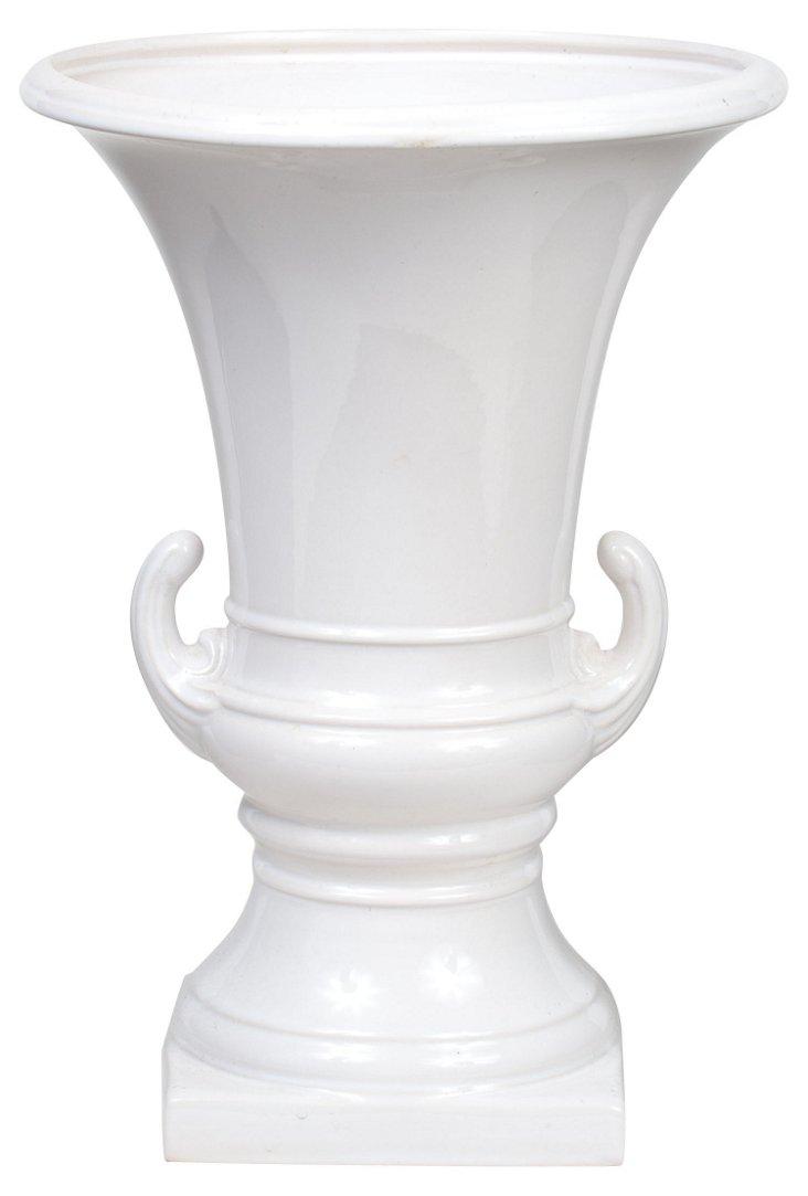 Art Deco-Style Ceramic Urn