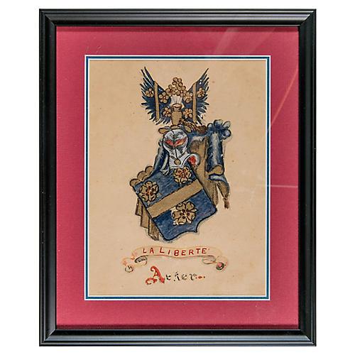 Framed Coat of Arms