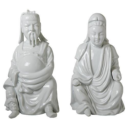 Blanc de Chine Figures, S/2