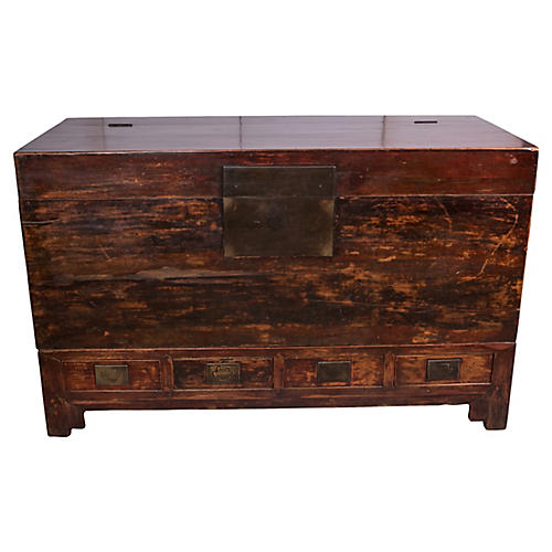 Early 20th Century Chinese Blanket Chest