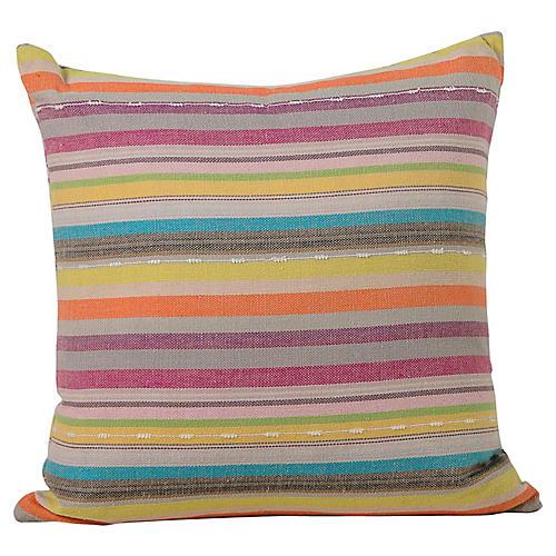 Striped Turkish Pillow