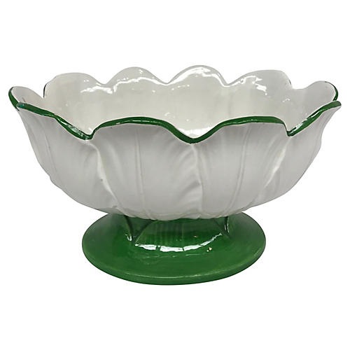 Italian Leaf-Shaped Bowl
