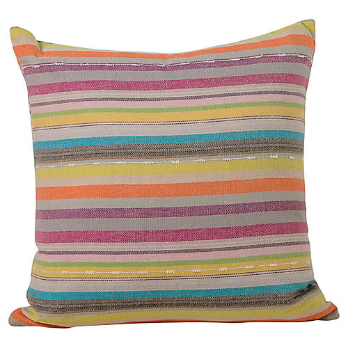 Striped Turkish Pillow
