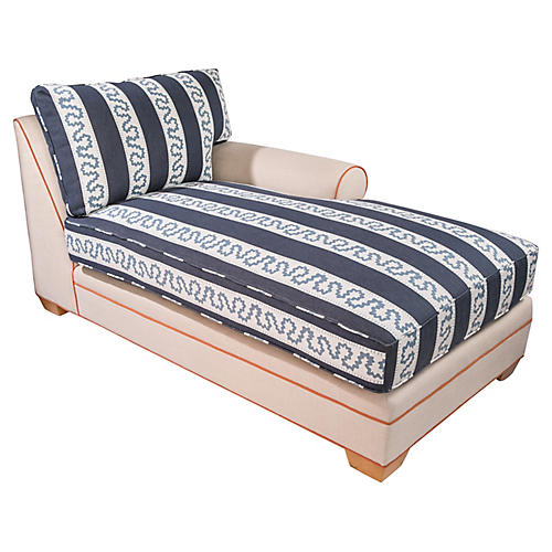 Custom Madcap Cottage Chaise Lounge