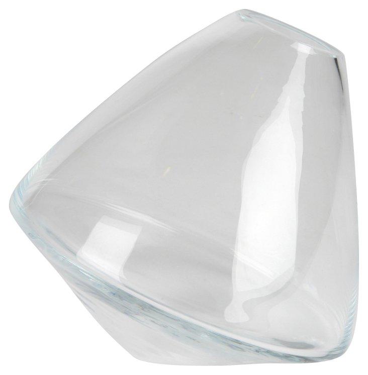 Rolling Crystal Bud Vase