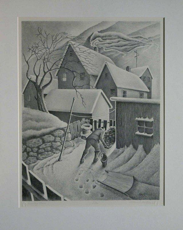 Evening Chore by William Kautzman