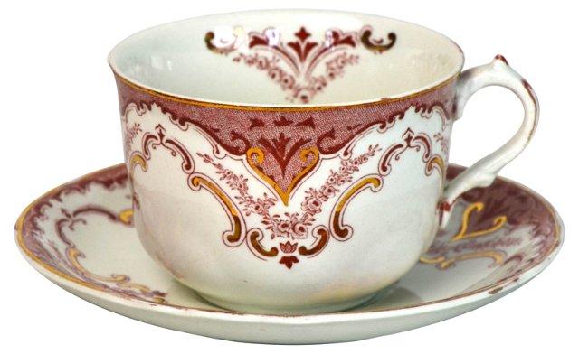 Cambridge Teacup & Saucer