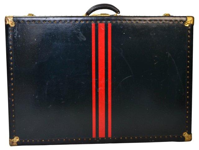 Striped British Briefcase
