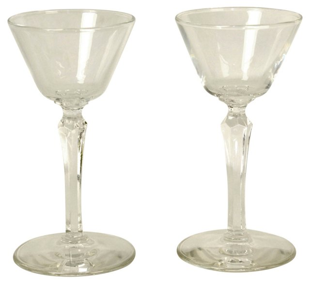 Clear Cordials, Pair