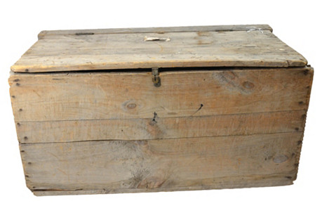Rustic Boston Trunk