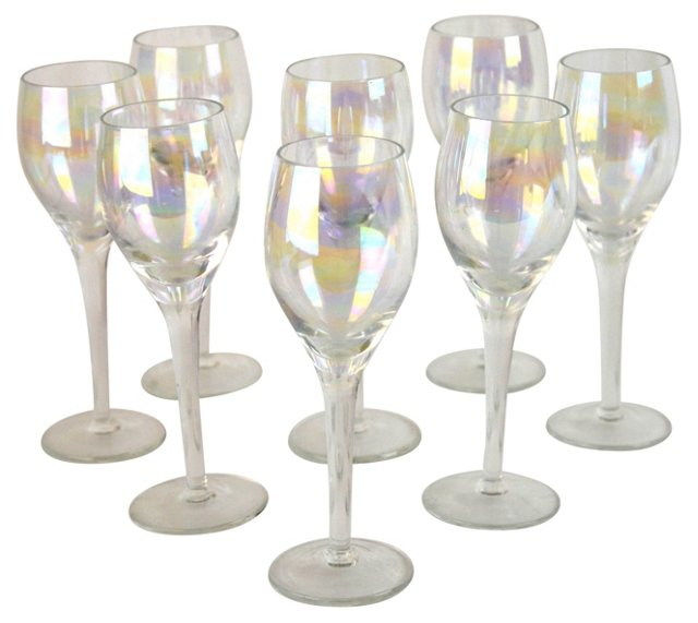 Luster Cordials, S/8