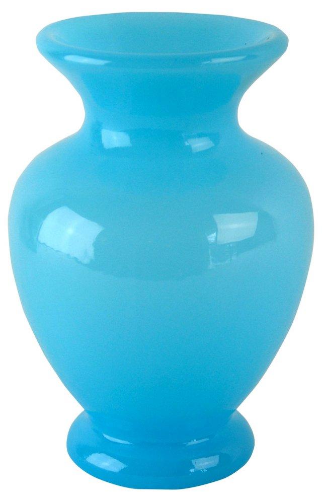 Fenton Turquoise Vase
