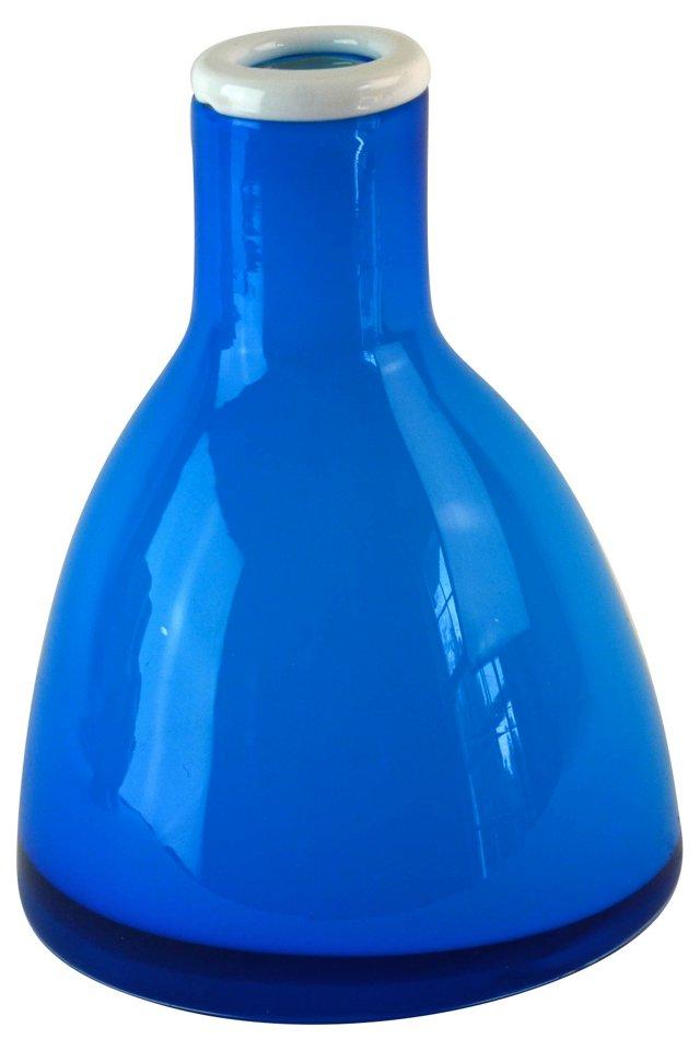 Modernist Blue Vase