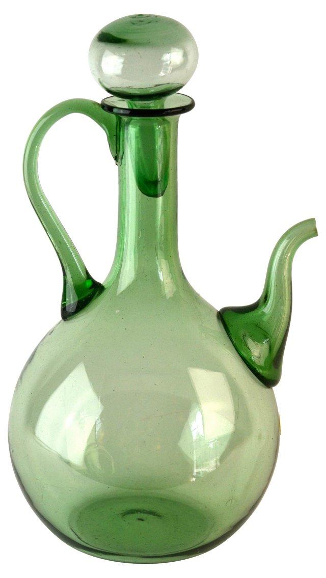 Handblown  Glass Decanter