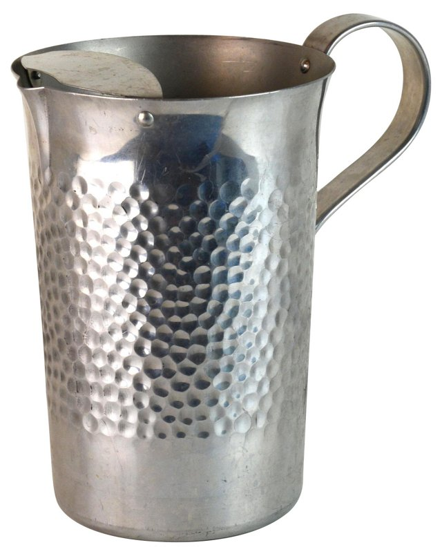 Italian Hammered Cocktail Pitcher