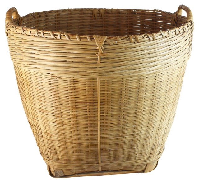 European Flower Market Basket