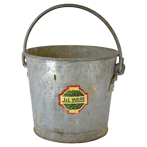 Galvanized Farm Bucket